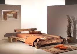 chambre acacia cadre de lit en bois massif maison design hosnya com