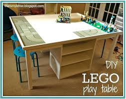 duplo table with storage play table with storage underneath furniture duplo play table
