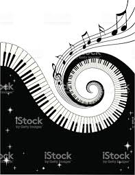 piano keys and notes stock vector art 165504361 istock