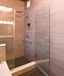 Bathroom Floor And Shower Tile Ideas by Here 39 S A Travertine Tile Shower With Diamond Patterned Designs