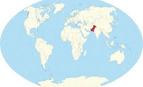 Pakistan On The Map Pakistan Location On The World Map For Where Is Pointcard Me