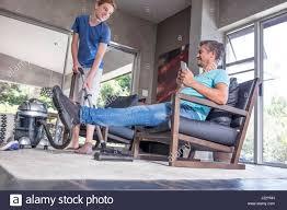 man vacuuming home stock photos u0026 man vacuuming home stock images