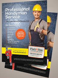13 best handyman flyer templates u0026 designs free u0026 premium