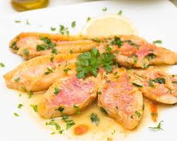 cuisiner rouget recette filets de rouget au safran