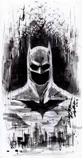 batman sketch by dexter wee i like the emptiness of the chin