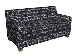 j9400q black and white script writing jacquard upholstery fabric