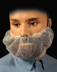 beard nets disposable protective apparel for safety industrial healthcare
