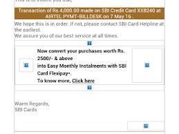 Sbi Cc Bill Desk Airtel Money Complaints