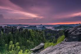 Sieben Berge Bad Alfeld Berge Sonnenuntergang Fotos U0026 Bilder Auf Fotocommunity