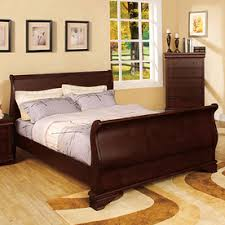 King Sleigh Bedroom Sets by Standard Madera King Sleigh Bed Ebony Black U2013 Sleigh Beds U2013 By