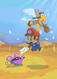 Paper Mario World Map by Dry Dry Desert Map Paper Mario 64 Video Game Heart