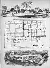 home planners house plans mid century modern house plans mid century modern building plans