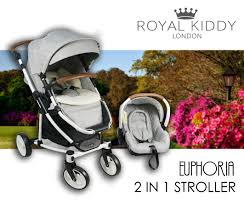 kiddy si e auto royal kiddy euphoria stroller with car seat