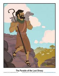 parable of the lost sheep story illustration