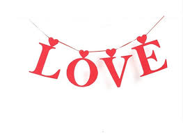 Valentine S Day Hanging Decorations by Aliexpress Com Buy Red Love Letter Banners Wedding Decoration
