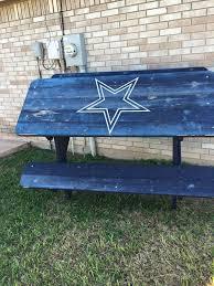 dallas cowboys picnic table home u0026 garden in edinburg tx offerup