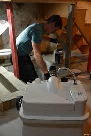 Basement Bathroom Ejector Pump Basement Bathroom Design Ideas And The Worst Job In Plumbing