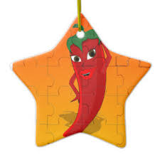 Chili Pepper Christmas Ornaments - jigsaw puzzle ornaments u0026 keepsake ornaments zazzle