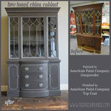 who buys china cabinets elegant two toned china cabinet refresh