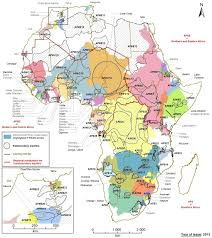 Population Map Of Africa by Transboundary Aquifer Map For Africa Water Land And Ecosystems