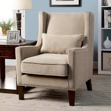 High Back Accent Chair Furniture Of America Emilla High Back Accent Chair Free Shipping