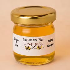 honey jar favors mini honey jar wedding favor