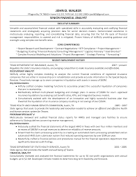 Work In Texas Resume 6 Financial Analyst Resume Budget Template Letter