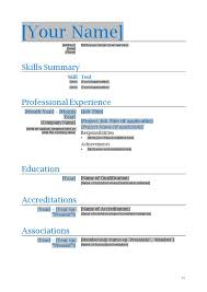 Action Words Resume Download Resume Template Microsoft Word Free Resume Templates