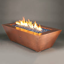 Linear Fire Pit by Outdoor Copper Fire Pit Oil Rubbed Bronze Fire Pit