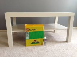 Lack Table by Ikea Hack Lego Lack Table Gaining Mommymentum