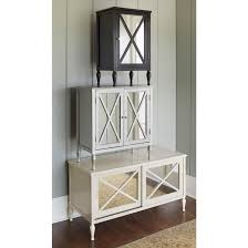 hollywood mirrored accent cabinet target