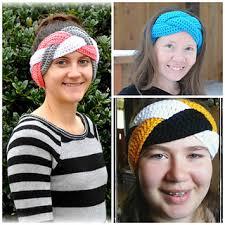 ear warmer headband ravelry braided earwarmer headband pattern by jelle