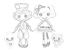 wacky hatteralice lalaloopsy coloring page 604392 coloring pages