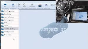 lost bmw key autohex ii 2013 bmw key programming all lost