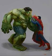 win fight superman hulk nerdist