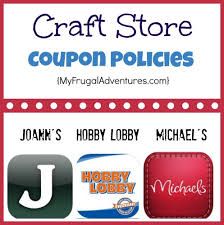 joanns coupon app craft store coupon policies hobby lobby joann s and