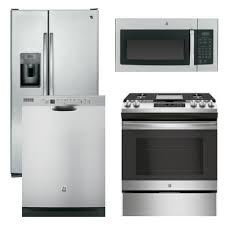 Kitchen Appliances Packages - 5 ge appliance package 4 piece appliance package with gas