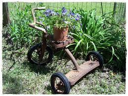 Recycled Garden Decor Garden Ideas Corner Garden Ideas Yard Ornaments To Make Deck