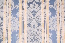 Blue Damask Upholstery Fabric Kaufmann Chiswick House Damask Upholstery Fabric In Lakeland