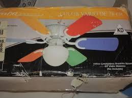 Aloha Breeze  Multi Color  Blade Ceiling Fan Light Kids Room - Kids room ceiling fan