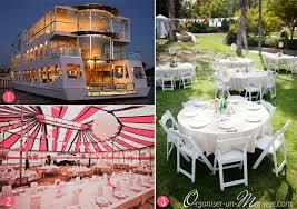 lieu pour mariage 16 idées pour épater vos invités et faire un mariage original