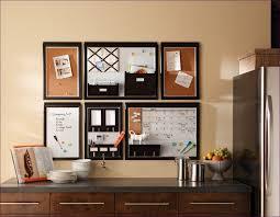 kitchen room bulletin board and whiteboard combo cork board