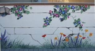 garden wall murals ideas gardensdecor com