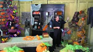 Lighted Halloween Garland by Basic Ideas For Fall U0026 Halloween Decorating Youtube