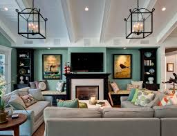 Decorating Family Room With Fireplace And Tv - 10 ways to make your home look elegant on a budget freshome com