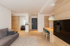 Modern Apartment Design Maximizes Space Minimizes Distraction - Modern apartment design