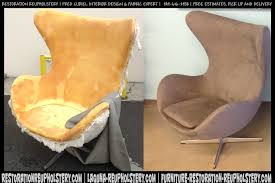 Reupholster Leather Chair Leather Furniture Restoration Restoration Reupholstery 949 616