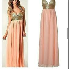 gold maxi dress nwt and gold maxi dress gown s from jen s closet on poshmark