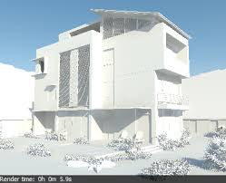 rendering an exterior scene v ray 2 0 for sketchup chaos group