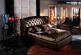 Elegant Leather Modern Platform Bed San Francisco California VAA - Bedroom furniture san francisco